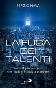 """La copertina de """"La Fuga dei Talenti"""""""